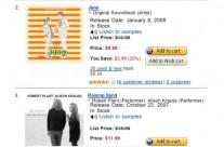 Amazon Top 5 Albums